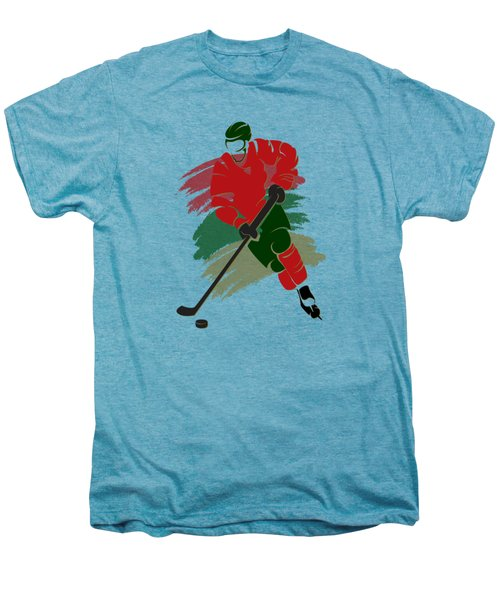 Minnesota Wild Player Shirt Men's Premium T-Shirt by Joe Hamilton