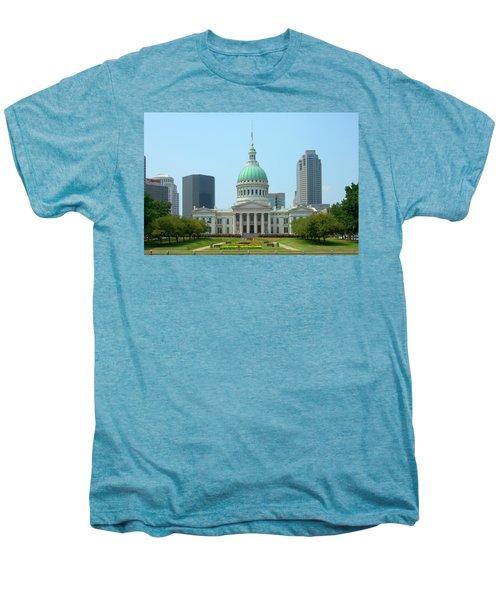 Missouri State Capitol Building Men's Premium T-Shirt