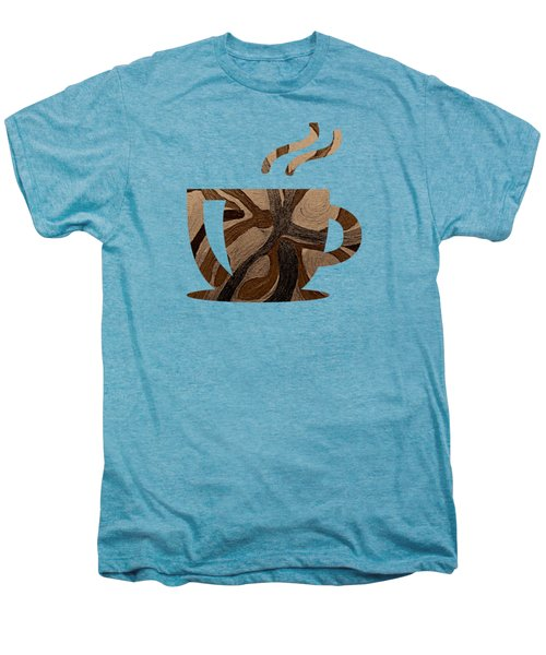 Mocha Java Swirl Men's Premium T-Shirt
