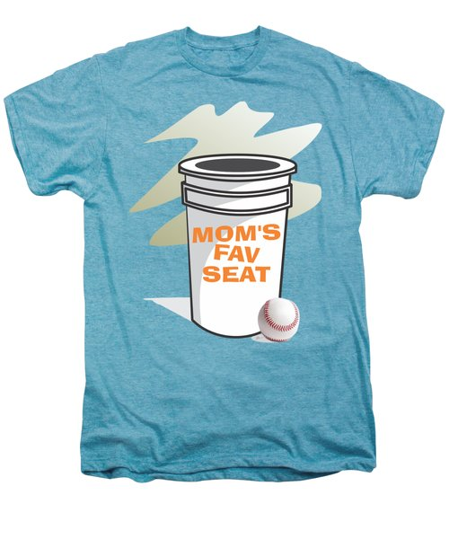 Mom's Favorite Seat Men's Premium T-Shirt by Jerry Watkins