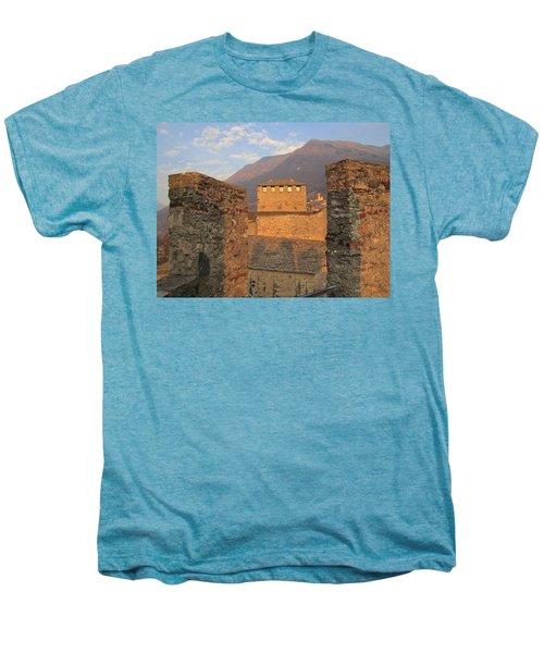 Montebello - Bellinzona, Switzerland Men's Premium T-Shirt by Travel Pics