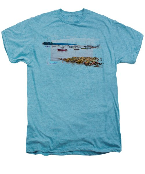 Moorings 2 Men's Premium T-Shirt by John M Bailey