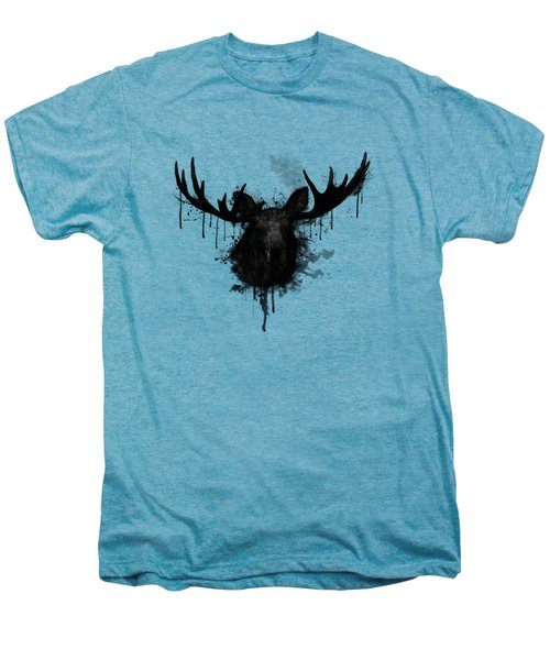 Moose Men's Premium T-Shirt by Nicklas Gustafsson