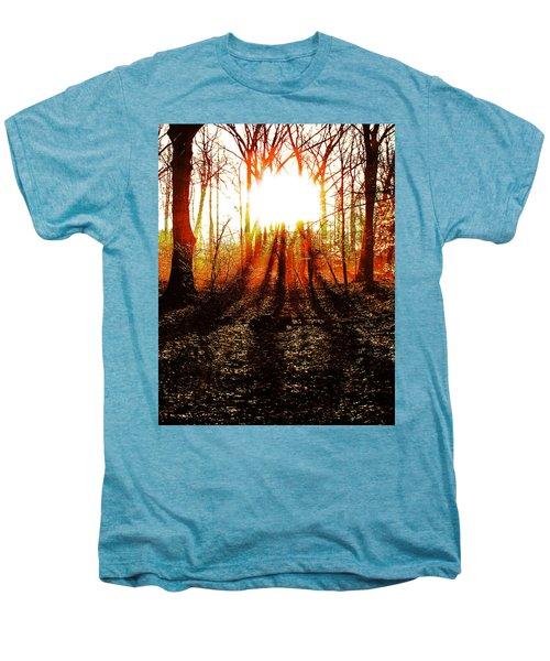 Morning Glow Men's Premium T-Shirt