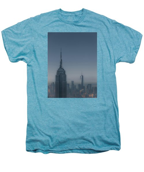 Morning In New York Men's Premium T-Shirt by Chris Fletcher