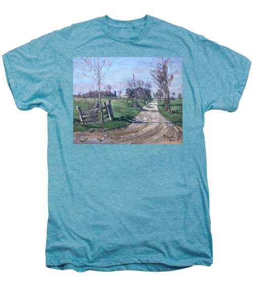 Morning In The Farm Georgetown Men's Premium T-Shirt