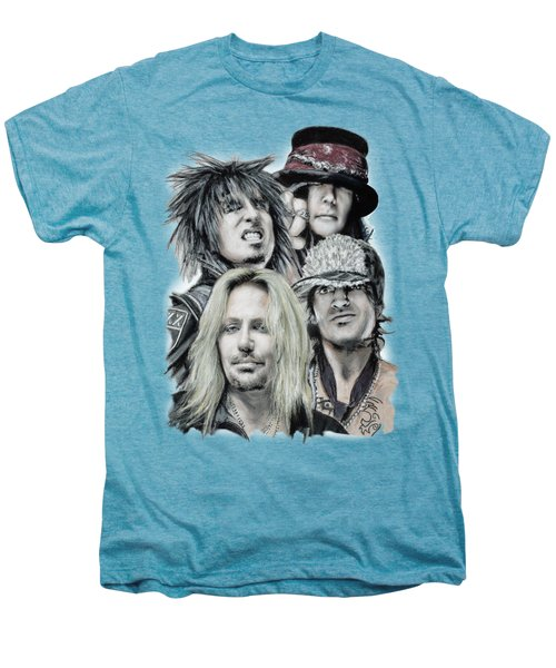 Motley Crue Men's Premium T-Shirt by Melanie D