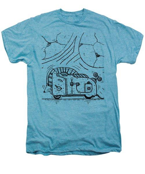 Moto Mouse Men's Premium T-Shirt