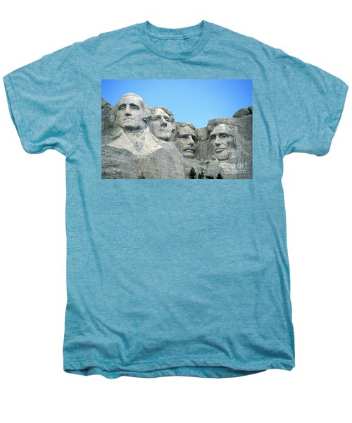 Mount Rushmore Men's Premium T-Shirt by American School