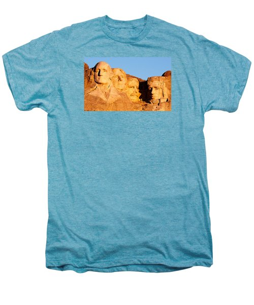Mount Rushmore Men's Premium T-Shirt by Todd Klassy