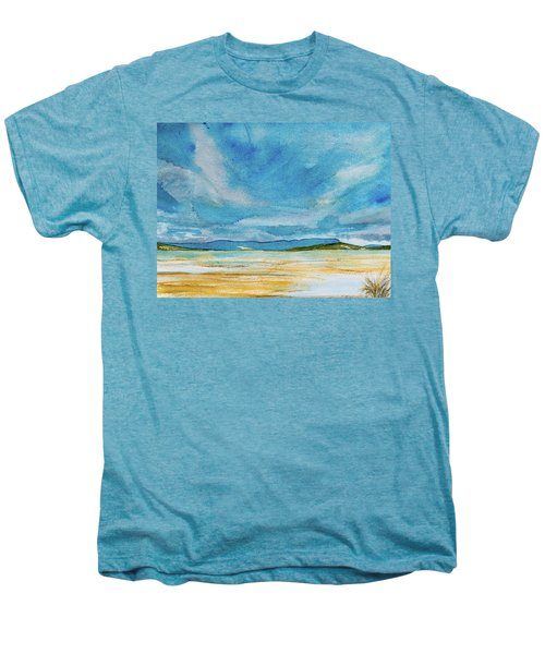 View Of Mount Wellington From South Bruny Island Men's Premium T-Shirt