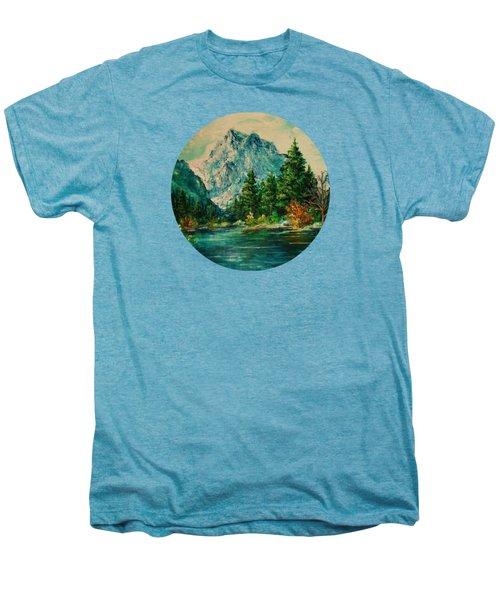 Mountain Lake Men's Premium T-Shirt