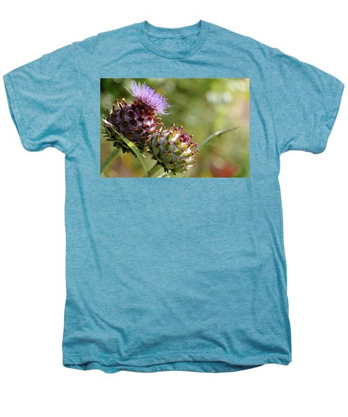 Mr And Mrs Thistle  Men's Premium T-Shirt by Jeremy Lavender Photography