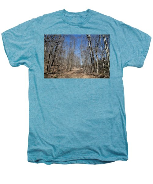 Men's Premium T-Shirt featuring the photograph Mud Season In The Adirondacks by David Patterson