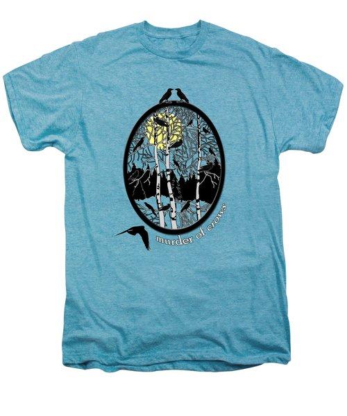 Murder Of Crows Men's Premium T-Shirt