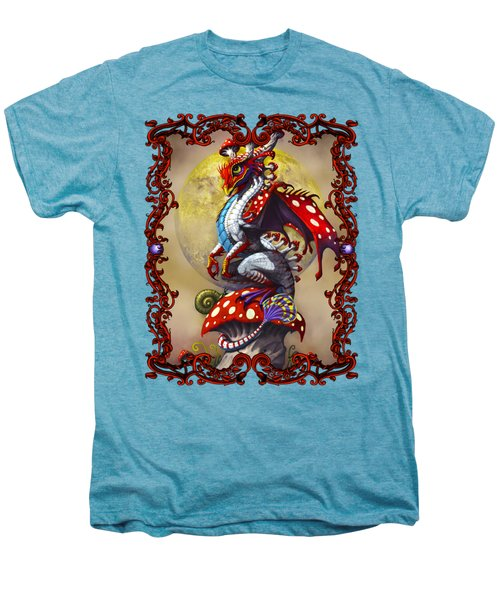 Mushroom Dragon T-shirts Men's Premium T-Shirt by Stanley Morrison