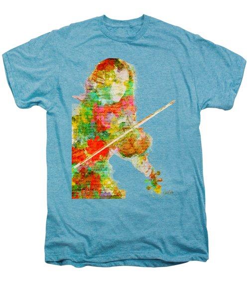 Music In My Soul Men's Premium T-Shirt by Nikki Smith