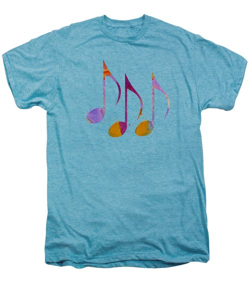 Musical Notes Men's Premium T-Shirt