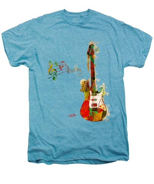 My Guitar Can Sing Men's Premium T-Shirt by Nikki Smith