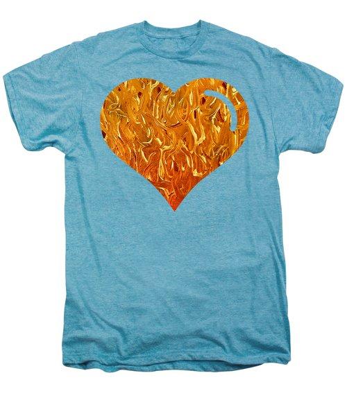 My Heart Is On Fire Men's Premium T-Shirt