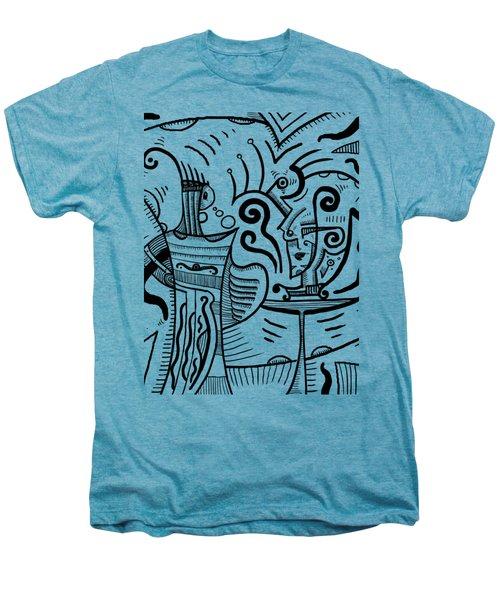 Mystical Powers Men's Premium T-Shirt by Sotuland Art