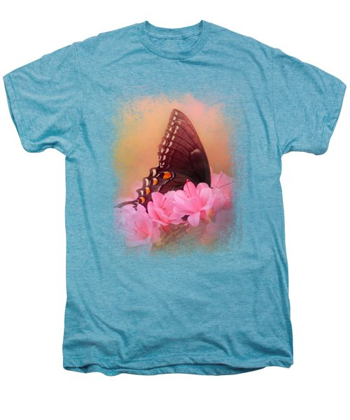 Napping In The Azaleas Men's Premium T-Shirt