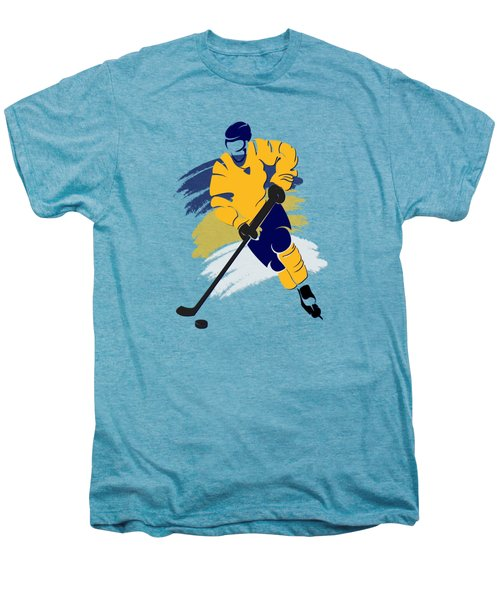 Nashville Predators Player Shirt Men's Premium T-Shirt by Joe Hamilton