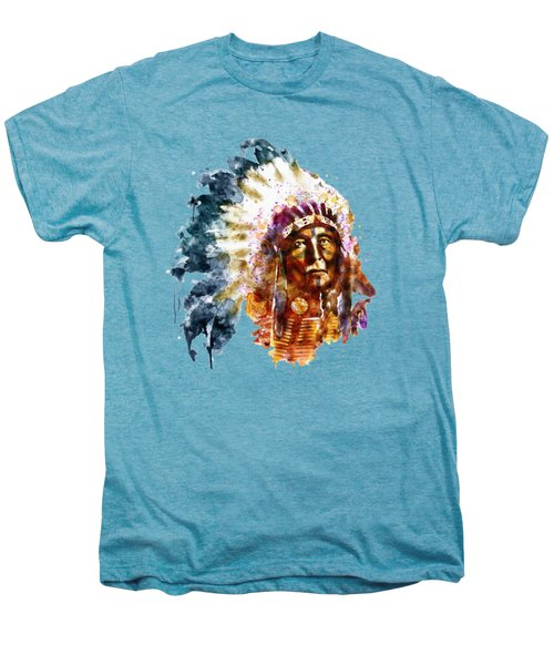 Native American Chief Men's Premium T-Shirt