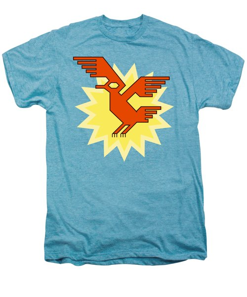 Native South American Condor Bird Men's Premium T-Shirt