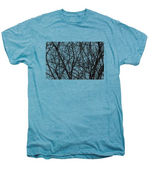 Natural Trees Map Men's Premium T-Shirt by Konstantin Sevostyanov