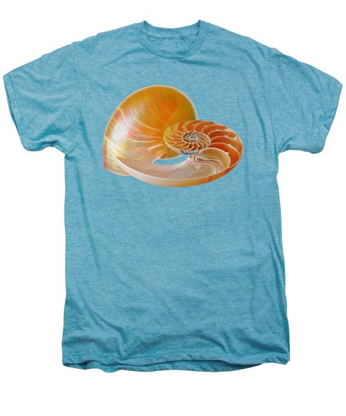 Nautilus Golden Glow Men's Premium T-Shirt