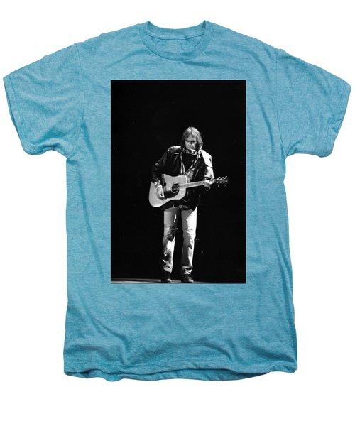 Neil Young Men's Premium T-Shirt by Wayne Doyle