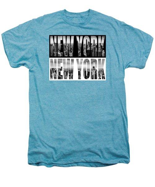 New York New York Men's Premium T-Shirt