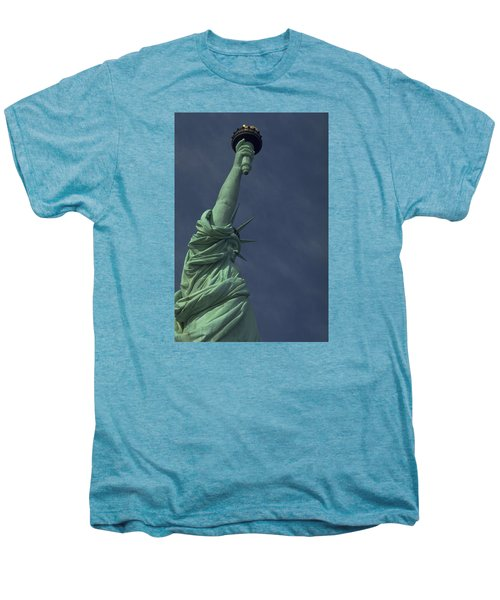 Men's Premium T-Shirt featuring the photograph New York by Travel Pics