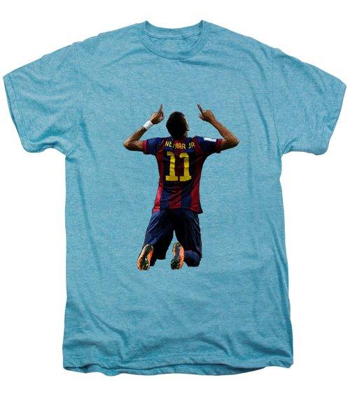 Neymar Men's Premium T-Shirt by Armaan Sandhu