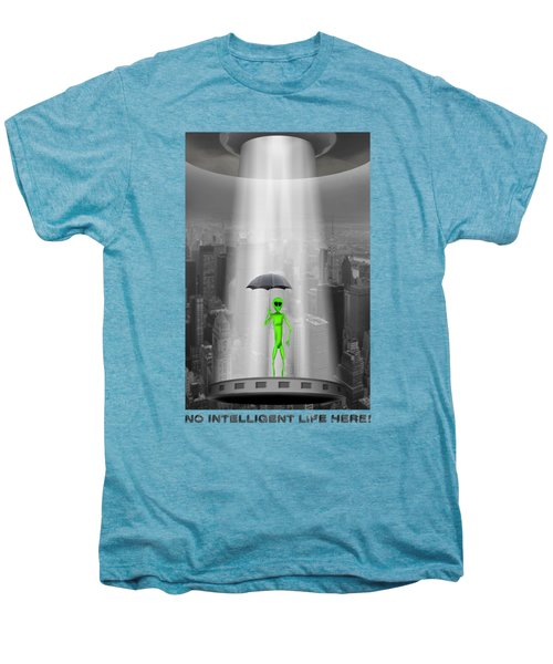 No Intelligent Life Here 2 Men's Premium T-Shirt by Mike McGlothlen