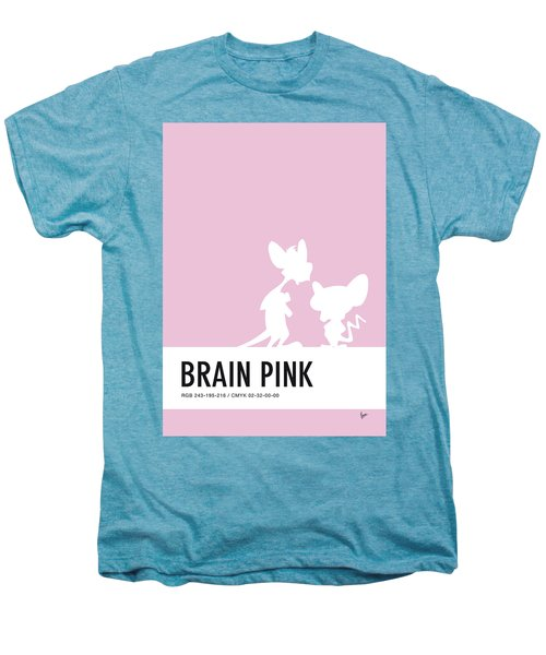 No01 My Minimal Color Code Poster Pinky And The Brain Men's Premium T-Shirt