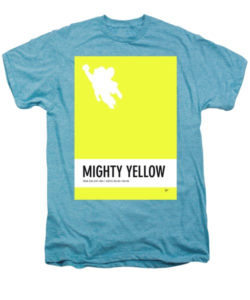 No02 My Minimal Color Code Poster Mighty Mouse Men's Premium T-Shirt