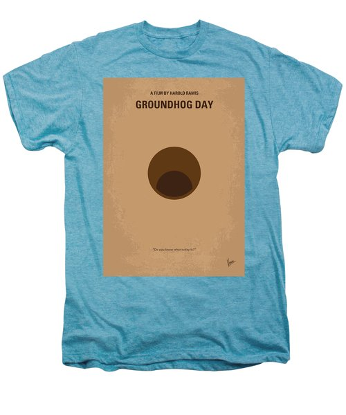 No031 My Groundhog Minimal Movie Poster Men's Premium T-Shirt