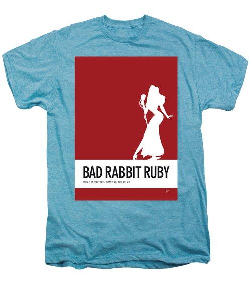 No14 My Minimal Color Code Poster Jessica Rabbit Men's Premium T-Shirt