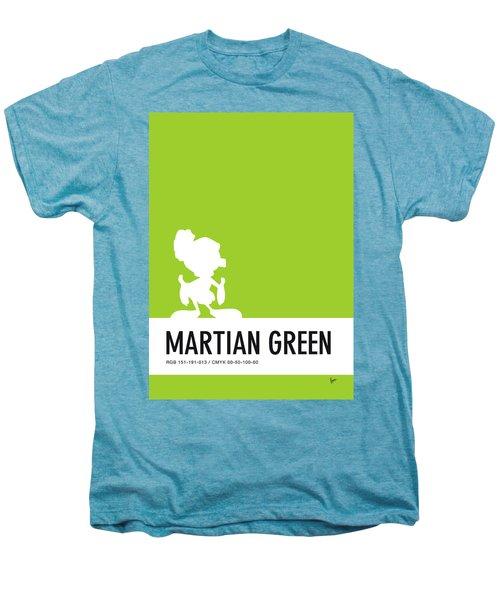 No15 My Minimal Color Code Poster Marvin Men's Premium T-Shirt