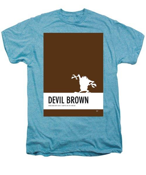 No16 My Minimal Color Code Poster Tasmanian Devil Men's Premium T-Shirt