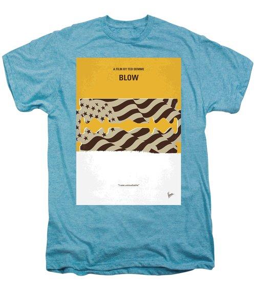 No693 My Blow Minimal Movie Poster Men's Premium T-Shirt