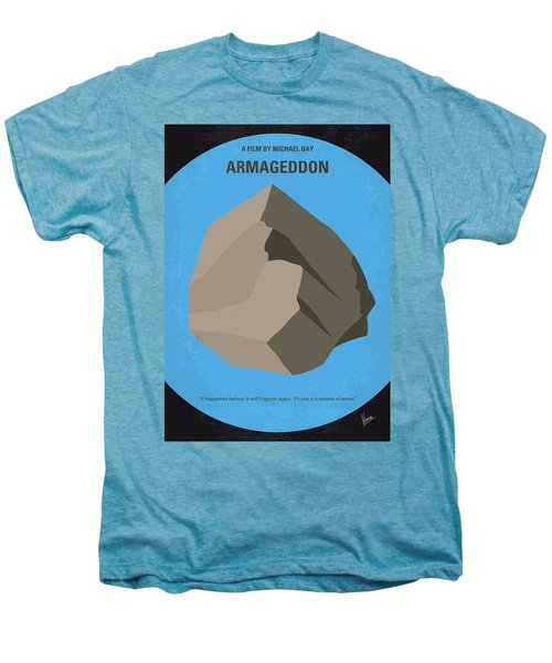 No695 My Armageddon Minimal Movie Poster Men's Premium T-Shirt by Chungkong Art