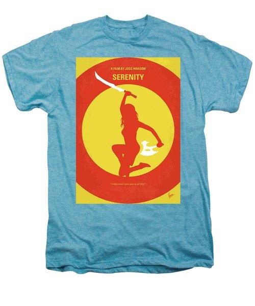 No722 My Serenity Minimal Movie Poster Men's Premium T-Shirt