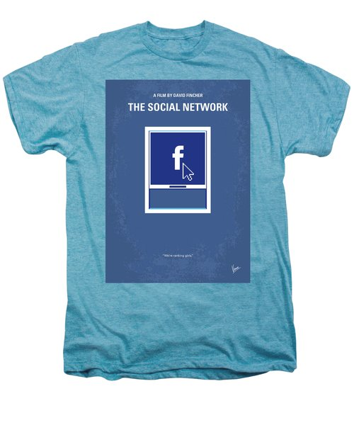 No779 My The Social Network Minimal Movie Poster Men's Premium T-Shirt