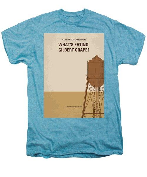 No795 My Whats Eating Gilbert Grape Minimal Movie Poster Men's Premium T-Shirt