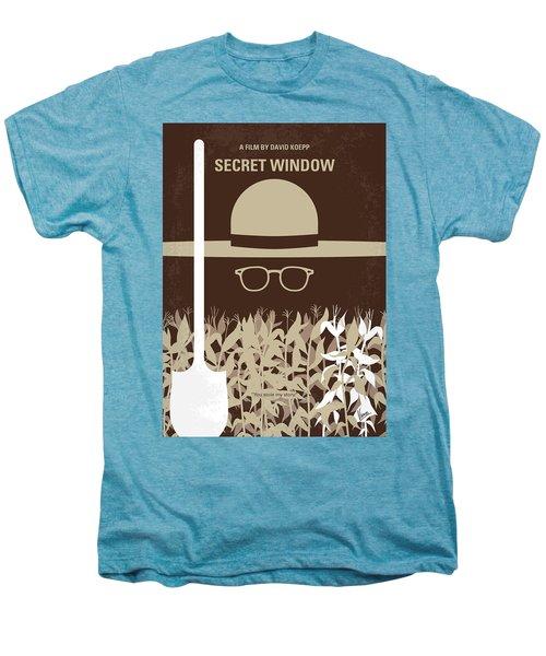 No830 My Secret Window Minimal Movie Poster Men's Premium T-Shirt
