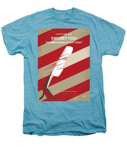 No849 My Sweeney Todd Minimal Movie Poster Men's Premium T-Shirt