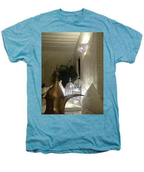 North - Eastern African Home - Lanterns And Jug Men's Premium T-Shirt